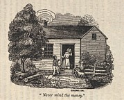 Underground Railroad Prints - Never Mind The Money. Fugitive Slave Print by Everett