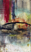 Abstracts Mixed Media Prints - Never Say Never Print by Michel  Keck
