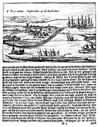 New World Photos - NEW AMSTERDAM, 1620s by Granger