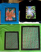 Splatter Tapestries - Textiles - New Art Shirts by Nino  B
