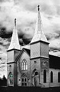 Photogaph Art - New Brunswick Church by Donald Schwartz