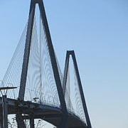 Bridge Art - New Cooper River Bridge by Cathy Lindsey