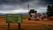 Rural Scene Originals - New Cuyama California by Gus McCrea