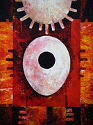Harold Bascom Fine Art Paintings - New Earth Incubation I by Harold Bascom