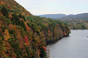 Lake - New England Autumn by Kathy Dahmen