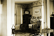 Settee Framed Prints - New England Interior Framed Print by Jan Faul