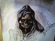 Reaper Mixed Media - New grim by Katie Alfonsi