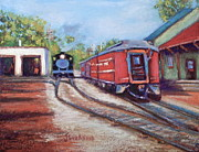 Joyce A Guariglia - New Hope Train Stop