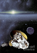 Most Photo Posters - New Horizons Spacecraft In Kuiper Belt Poster by NASA/Johns Hopkins University APL/Southwest Research Institute
