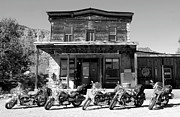 Harley Davidson Photo Metal Prints - New horses at Bedrock Metal Print by David Lee Thompson