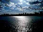 New Jersey Photo Originals - New Jersey over the Hudson by Katie Victoria