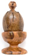 Olive Wood Originals - New Life Emerging by Eric Kempson