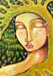 Tree Of Life Paintings - New Life by Shiloh Sophia McCloud
