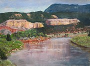 Chama River Prints - New Mexico Colors Print by Stana Stoker