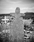 Religious Art Photo Metal Prints - New Mexico Cross Metal Print by Sonja Quintero