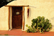 Lawrence Costales - New Mexico Door at Sunset