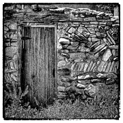 Adobe Prints - New Mexico Door III Print by David Patterson