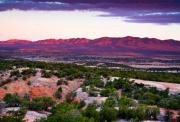 New Mexico Prints - New Mexico Sunset Print by Matt Suess