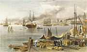 American City Prints - New Orleans, 1873 Print by Granger