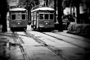 New Orleans Classic Streetcars. Print by Perry Webster