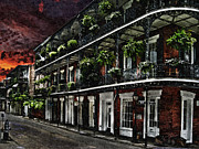 New Orleans Digital Art Posters - New Orleans Poster by Dancin Artworks