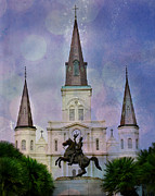 Jackson Prints - New Orleans Dust Print by Perry Webster