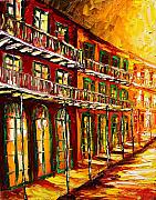 New Orleans Oil Paintings - New Orleans Heat by Beata Sasik