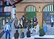 New Orleans Jazz - Rain Or Shine Print by Douglas Ann Slusher