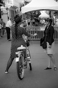 Ladies Bike Photos - New Orleans Ladies  by Leslie Leda