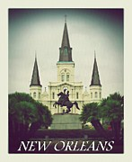 Jackson Prints - New Orleans Poster Print by Perry Webster