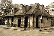 Socialize Framed Prints - New Orleans Pub Framed Print by Cecil Fuselier
