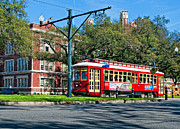 Canal Street Photos - New Orleans Streetcar 2 by Steve Harrington