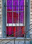 Window Bars Prints - New Orleans Window Print by Kathleen K Parker