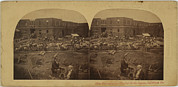1850s Prints - New Pennsylvania Hospital Print by Everett