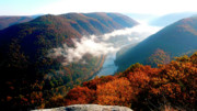 New River Valley Prints - New River Gorge National River Print by Thomas R Fletcher