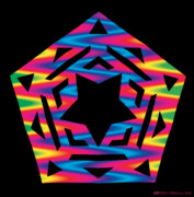 Chromatic Prints - New Star 2 Print by Eric Edelman