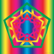 Chromatic Prints - New Star 4f Print by Eric Edelman