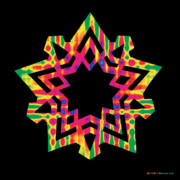 Chromatic Prints - New Star 5 Print by Eric Edelman