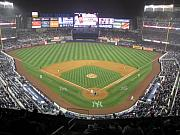 Baseball Game Art - New Yankee Stadium by Peter Aiello