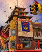 Canal Street Prints - New Year In Chinatown Print by Chris Lord