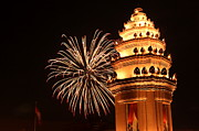 Asia Prints - New Year in Phnom Penh Print by Nabil Kannan