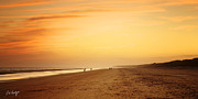 Beach Photograph Prints - New Years Night Print by Phill  Doherty