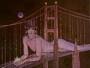 Female  - New Years on the Golden Gate by Gary Kaemmer