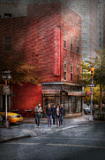 Urban Buildings Prints - New York - Store - The old delicatessen Print by Mike Savad
