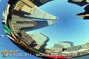 Twin Towers World Trade Center Digital Art Metal Prints - New York 911 Poster - World Trade Center Metal Print by Peter Art Prints Posters Gallery