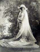 1920 Framed Prints - New York: Bride, 1920 Framed Print by Granger