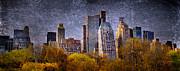 New York Buildings Print by Svetlana Sewell