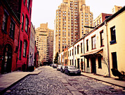 Cobble Stone Posters - New York City - Greenwich Village Poster by Vivienne Gucwa