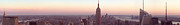 Thomas Richter Metal Prints - New York City - Manhattan Panorama Metal Print by Thomas Richter