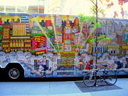 Don Struke - New York City Bus with...